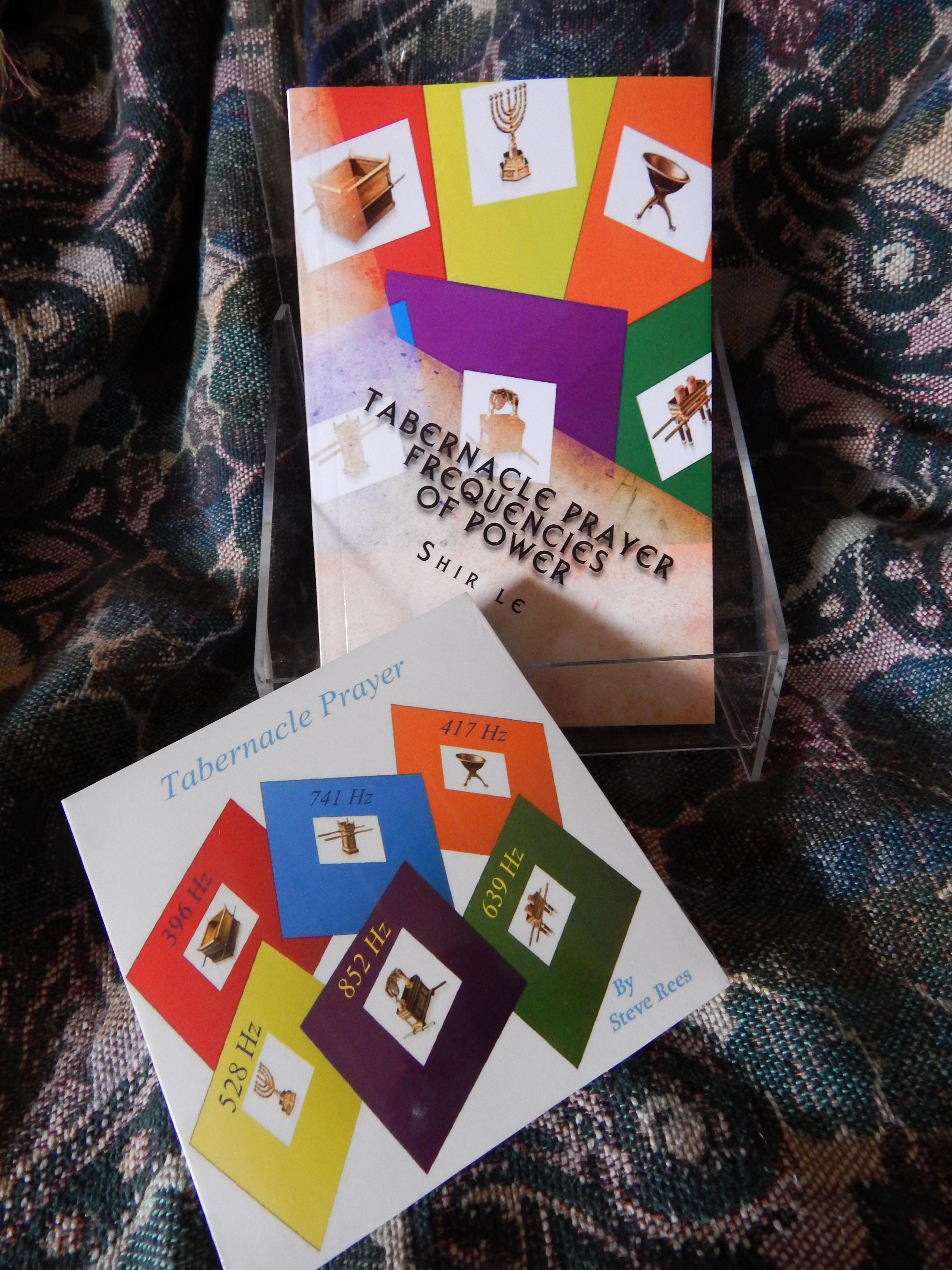 Tabernacle CD AND BOOK – Calming Harp